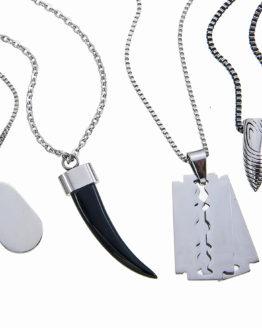 Halsband Herr Stål